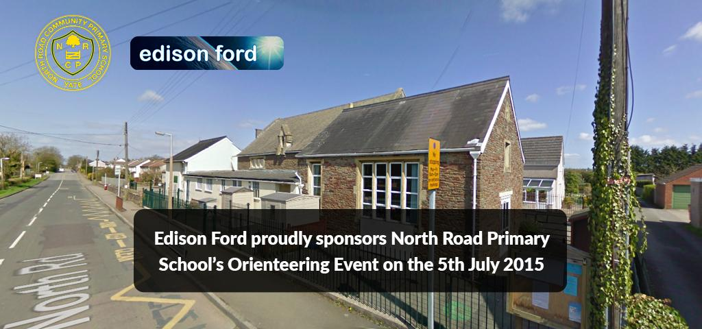 Edison Ford sponsors local school's orienteering event 2015