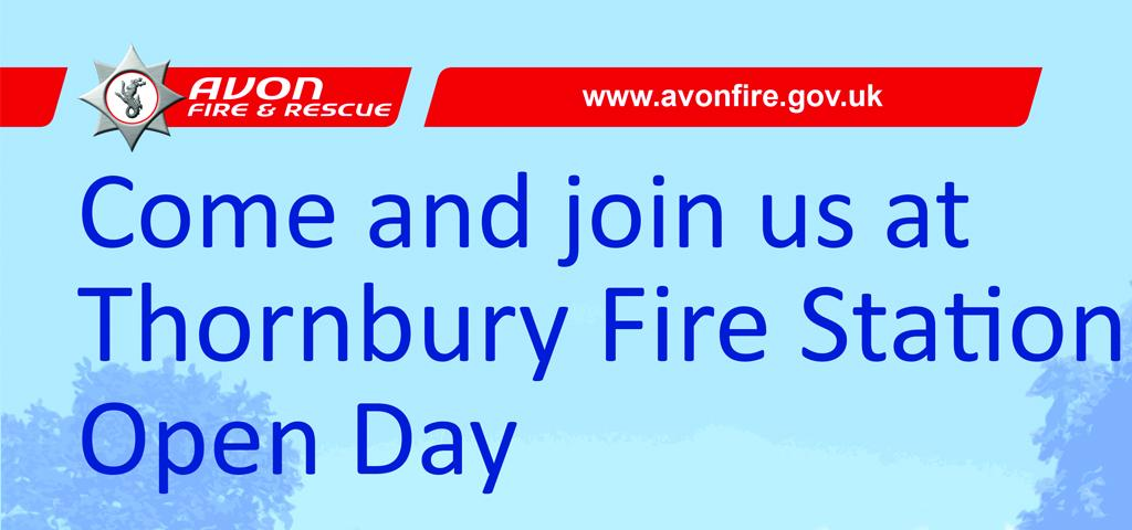 Thornbury Fire Station OPEN DAY 6th Sept 11-4