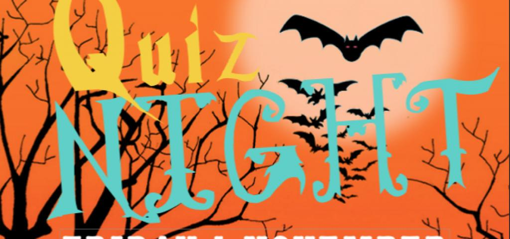 Quiz Night - Halloween Special - Friday 1 November 2019